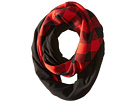 Fleece - Lined Plaid Infinity Scarf
