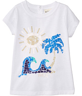 Roxy Kids - Paint Beach Crew Tee (Infant)