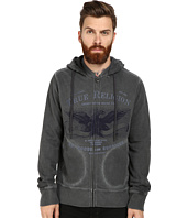 True Religion - Hoodie Zip Jacket Eagle