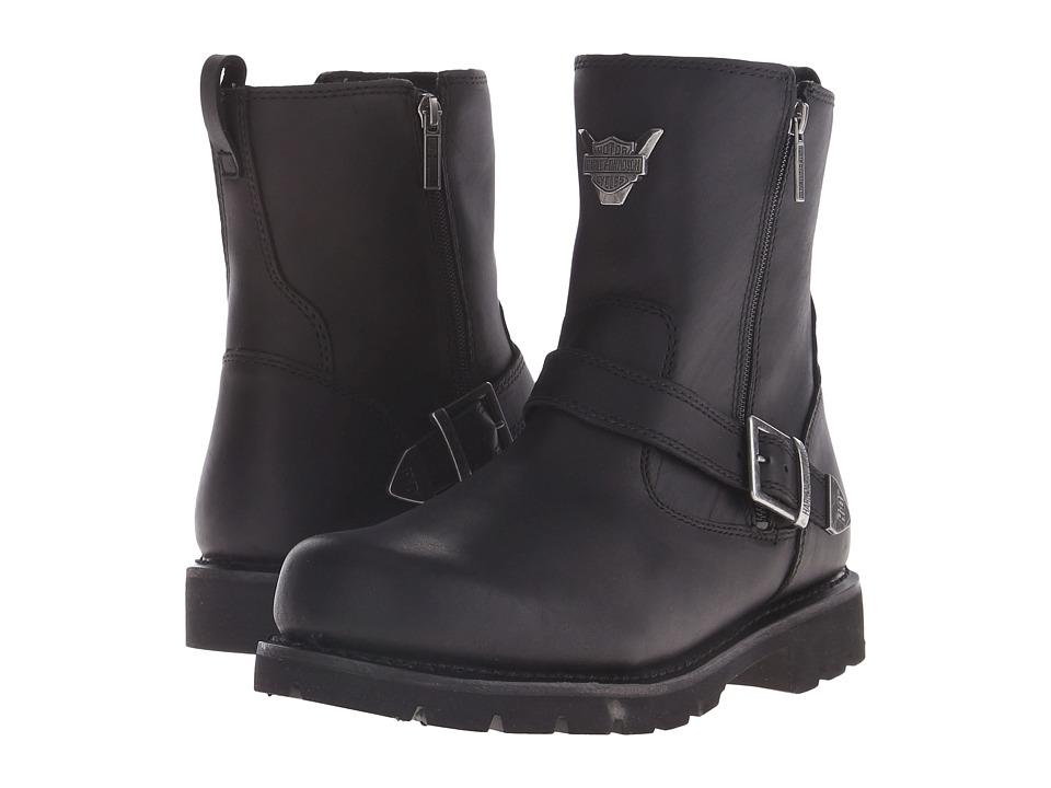 Harley Davidson Flagstone (Black) Men's Zip Boots