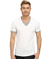 BOSS Orange - Tulis Short Sleeve Double Layer V-Neck