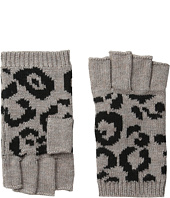 BCBGMAXAZRIA - Bi Color Animal Fingerless Gloves