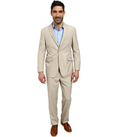 U.S. POLO ASSN. - Two-Button Solid Cotton Nested Suit