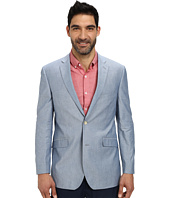 U.S. POLO ASSN. - Chambray Two-Button Blazer