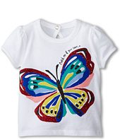 Kate Spade New York Kids - Brushstroke Butterfly Tee (Infant)
