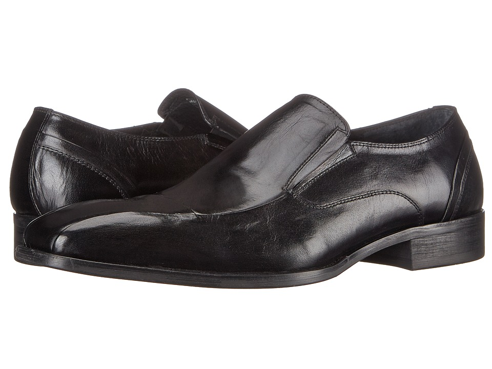 Kenneth Cole New York Plus One Black Mens Slip on Shoes