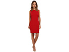 rsvp Bianca Ponte Dress (Crimson)