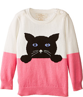Kate Spade New York Kids - Intarsia Cat Sweater (Infant)