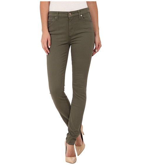 7 For All Mankind Mid Rise Skinny with Contour Waistband in ...