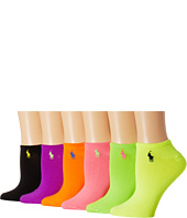 LAUREN by Ralph Lauren - 6-Pack Ultra Low Cut Socks