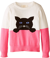 Kate Spade New York Kids - Intarsia Cat Sweater (Toddler/Little Kids)