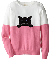 Kate Spade New York Kids - Intarsia Cat Sweater (Big Kids)