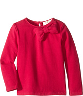Kate Spade New York Kids - Long Sleeve Bow Top (Infant)