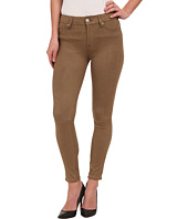 7 For All Mankind - High Waist Ankle Knee Seam Skinny in Mocha Snake