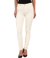 7 For All Mankind - The High Waist Skinny Cord in Soft White