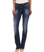 True Religion - Gina Mini Bootcut Jeans in Medium Blue