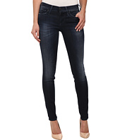 True Religion - Chrissy Mid Rise Super Skinny Jeans in Basic Dark
