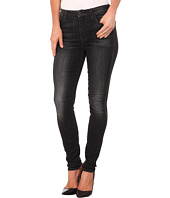 7 For All Mankind - The High Waist Skinny in Vintage Black
