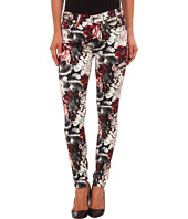 7 For All Mankind - Mid Rise Skinny with Contour Waistband in Gallery Floral