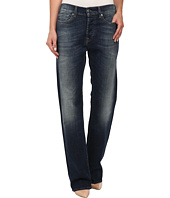 True Religion - Harper Low Rise New Boyfriend Jeans in Old Blinston Blue