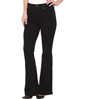 7 For All Mankind - Fashion Flare in Overdye Black