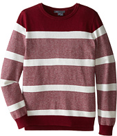 Vince Kids - Mixed Textured Stripe Sweater (Big Kids)