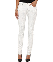 True Religion - Jude Low Rise Skinny Jeans in Silver Denim