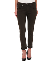 True Religion - Grace Low Rise New Boyfriend Jeans in Dark Green