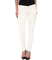 True Religion - Chrissy Mid Rise Super Skinny Jeans in Silver Denim