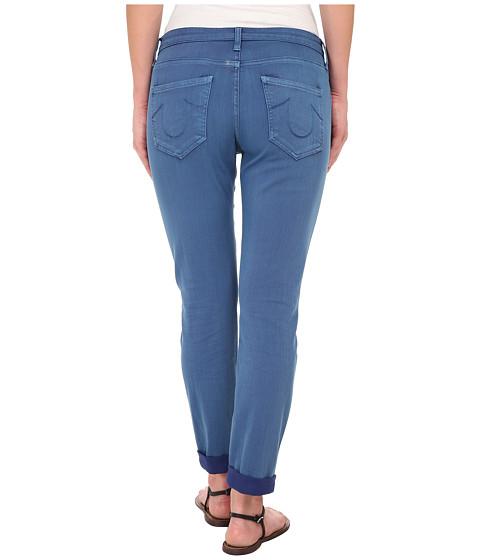 True Religion Grace New Boyfriend Jeans in Blue - 6pm.com