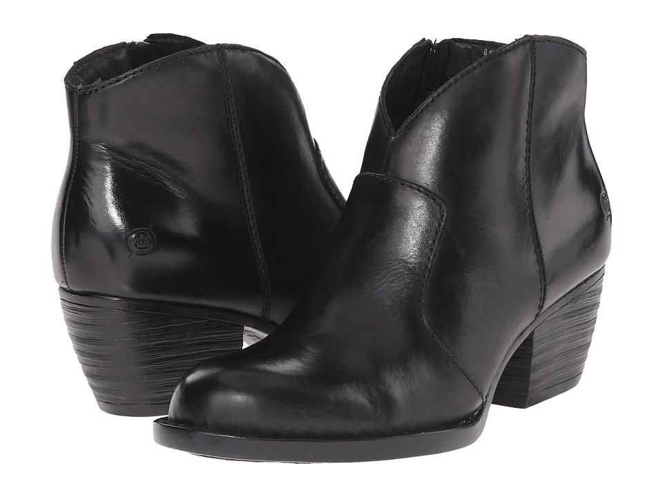 Born Michel (Black Full Grain Leather) Women's Shoes