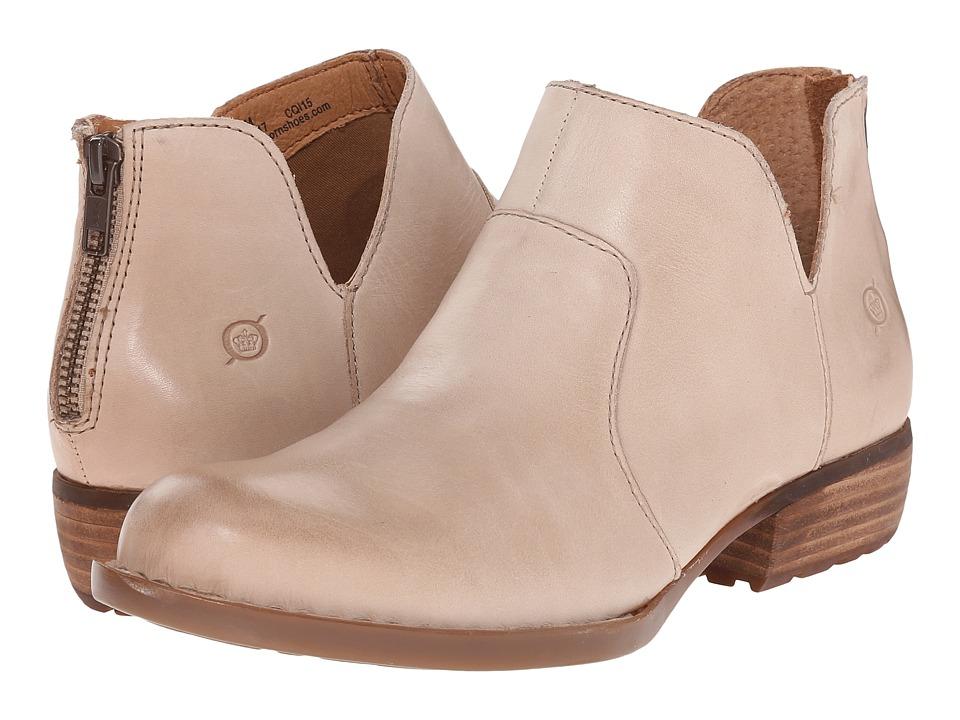 Born Kerri (Taupe Full Grain Leather) Women