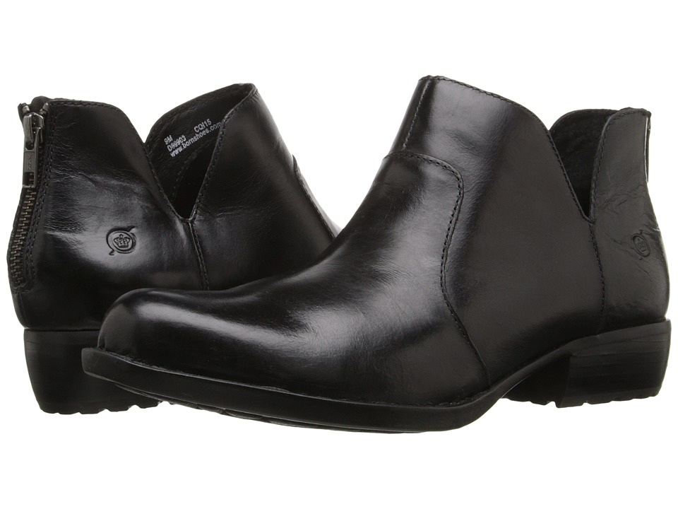Born - Kerri (Black Full Grain Leather) Women