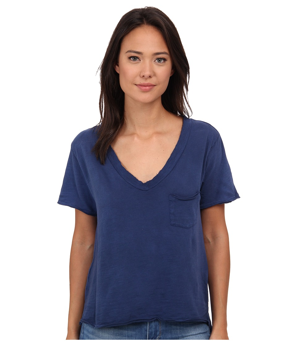 Free People 757 Tee Navy Womens T Shirt