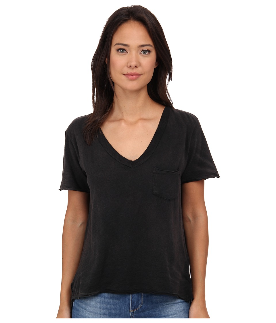 Free People - 757 Tee (Black) Women
