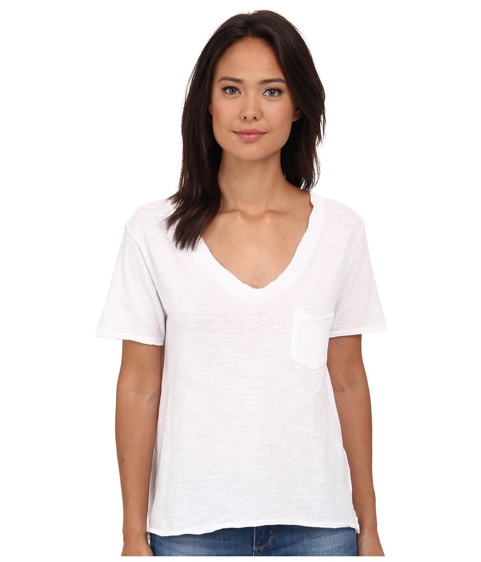 Free People 757 Tee White Womens T Shirt