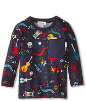 Paul Smith Junior - Music Instrument All Over Print T-Shirt (Infant/Toddler)