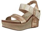 Image of OTBT - Bushnell (Gold) Women's Wedge Shoes