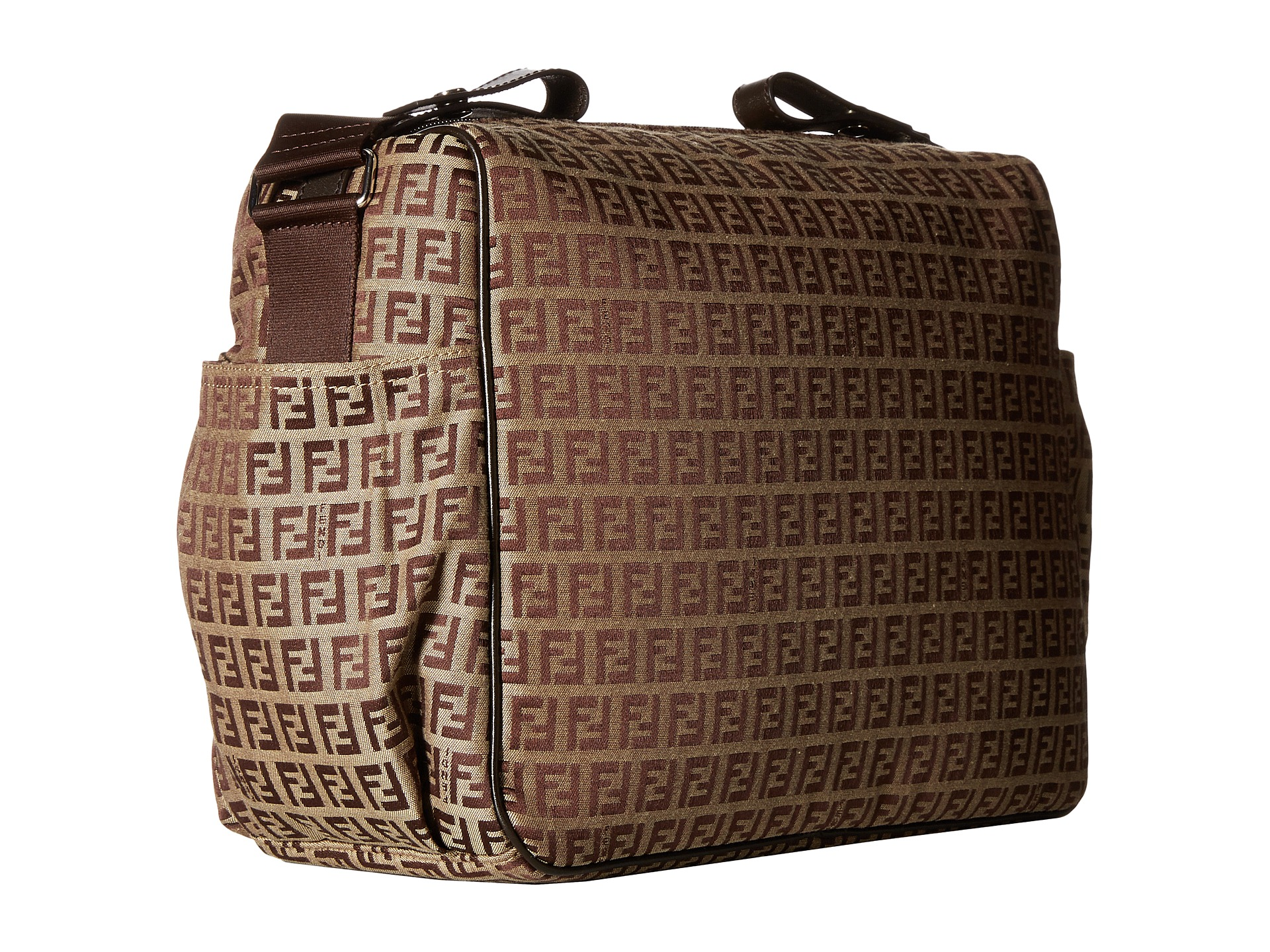 Kids Diaper Bag : Fendi kids all over diaper bag at luxury zappos