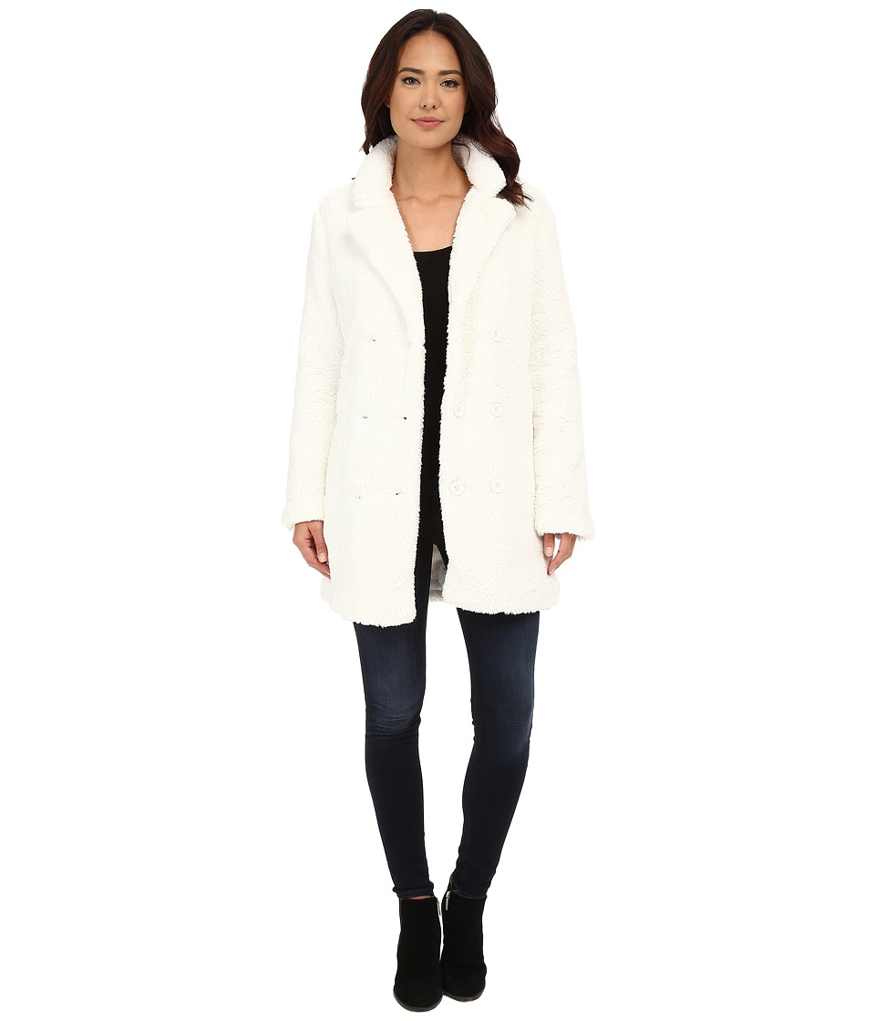 RVCA Warm Me Up Jacket Vintage White Womens Coat