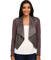 KUT from the Kloth - Faux Leather Drape Jacket
