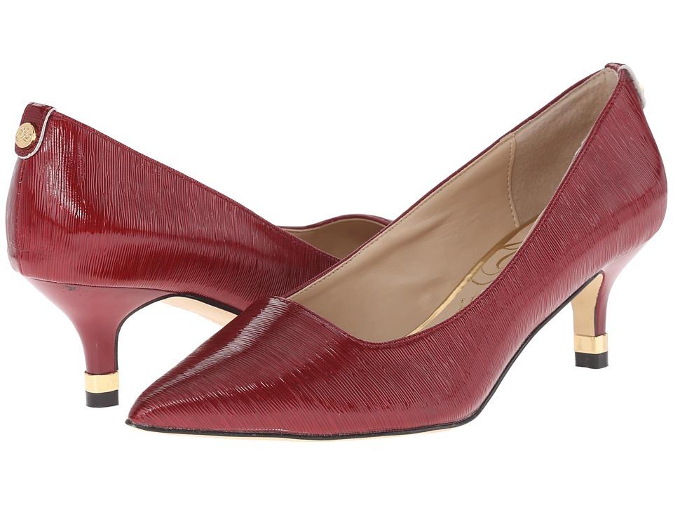 J. Renee Braidy Red Womens 1 2 inch heel Shoes
