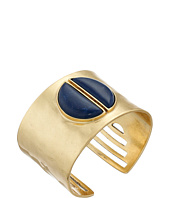 Lucky Brand - Gold and Lapis Bold Cuff Bracelet
