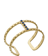 Lucky Brand - Gold and Lapis Delicate Cuff Bracelet