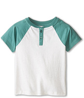 Vince Kids - Henley w/ Contrast Piecing (Toddler/Little Kids)