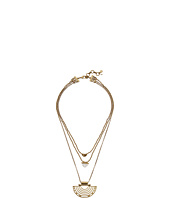 Lucky Brand - Gold Geo Lucky Layer Necklace