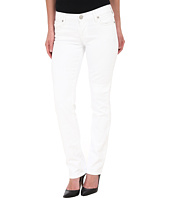 True Religion - Cora Slim Jean Straight Jeans in Optic White Jasmine