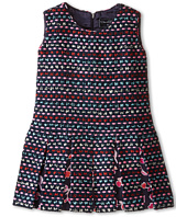 Oscar de la Renta Childrenswear - Tweed Watercolor Dress (Toddler/Little Kids/Big Kids)