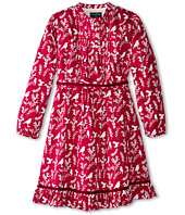 Oscar de la Renta Childrenswear - Woodland Bird Cotton Dress (Toddler/Little Kids/Big Kids)