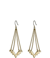 Lucky Brand - Gold Geo Chandelier Earrings